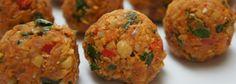 Buñuelos de verdura | Receta Thermomix buñuelos de verdura | Buñuelo de verdura Receta Thermomix