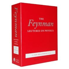 The Feynman Lectures on Physics, boxed set: The New Millennium Edition    Not the edition I started with in 1982, but still my stable. These volumes are why I taught myself Calculus early on.