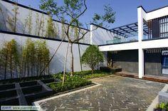 中式庭院景观_景观项目_园林吧论坛