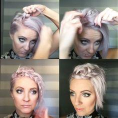 "Gefällt 1,388 Mal, 33 Kommentare - Arizona Hairstylist (@emilyandersonstyling) auf Instagram: ""Go to the link in my bio if you want to watch today's #shorthairtutorialmonday on YouTube not in…"""