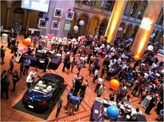 """As BMW was looking to further brand awareness and recognition among influencers in the DC area, I partnered with Washintonian Magazine on their """"Best of Washington"""" event supporting the Leukemia/Lymphoma society. BMW hosted a series of lifestyle events with the largest being held at the National Building Museum. Fifteen hundred guests came out to dine on fine food and cocktails while engaging in event activations. Mini golf anyone? One lucky winner won an all expense trip to BMW…"""