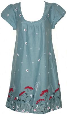 cotton dresses smock type tunics | WHITESTUFF-FLORAL-SMOCK-TUNIC-DRESS-SIZE-8-18-NEW-COTTON-DUCK-EGG-BLUE