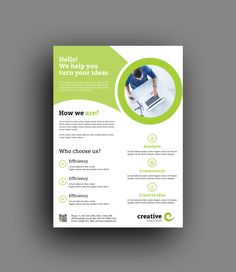 Chicago Clean Professional Business Flyer Template 6