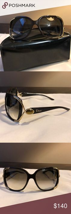 adf8707bb4 Christian Dior sunglasses Excellent condition no scratches no damage  Christian Dior Accessories Sunglasses Christian Dior Sunglasses