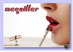 Zarampagalegando: Dicionario visual. Maquillar