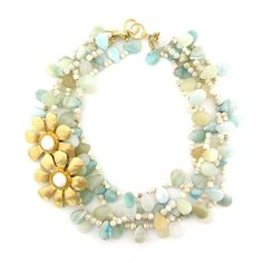 Lightness of Being necklace by Elva Fields  #elvafields
