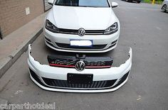 Full body kit for #volkswagen golf mk7 to golf 7 gti with #exhaust, View more on the LINK: http://www.zeppy.io/product/gb/2/151556057501/