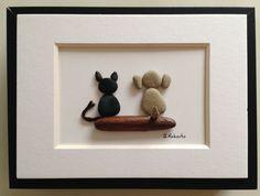 Best Friends Pebble Art