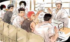 Manga Art, Manga Anime, Anime Art, Sketchbook Tumblr, Michael Jordan Slam Dunk, Slam Dunk Manga, Inoue Takehiko, Cute Anime Couples, Outdoor Art