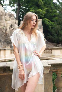 #Whitedress #SummerDress #Silkdress #blousesilk #Tunic #melmetextil #etsyshop