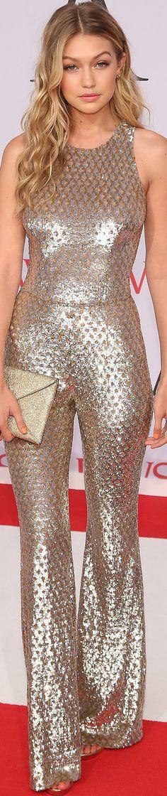 LOLO: Model Behavior Spotlight on Gigi Hadid....... in METALLIC..BellaDonna