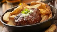 You'll find the ultimate Andy Bates Andy's Brazilian Steak and Chips recipe and…