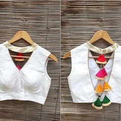 White Blouse Designs, Latest Blouse Neck Designs, Kurti Neck Designs, Saree Blouse Designs, Neckline Designs, Sari Blouse, Sleeveless Blouse, Blouse Designs Catalogue, Stylish Blouse Design