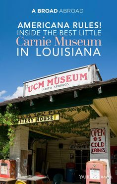 In a tiny corner of South East Louisiana is the Abita Mystery House - one of the best old school Americana roadside attractions you've never herd of... until now!
