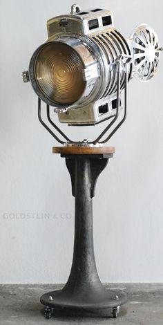 Custom arri vintage spotlight