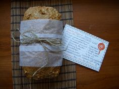 Quinoa carrot loaf - I subbed applesauce for the oil; tasty and healthy!