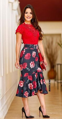 Fashion dress / korean dress 2019 fashion dress in 2018 pinter Skirt Outfits, Dress Skirt, Dress Up, Cute Outfits, Cute Dresses, Beautiful Dresses, Dresses Dresses, Modest Fashion, Fashion Dresses