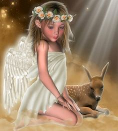 Fairy or angel Angel Images, Angel Pictures, Angels Among Us, Angels And Demons, Dark Angels, Holly Hobbie, Betty Boop, I Believe In Angels, Angels In Heaven