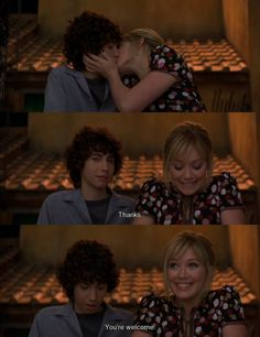 Lizzie McGuire. Giving girls dangerously high expectations about men since 2000