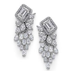 enamel and diamond earrings - Google Search