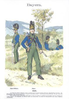 Band IV #41.- Bayern. Jäger. 1816.
