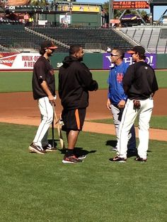 Andres catching up with his former teammates [Brandon & Panda] 7/30/12