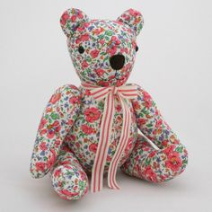 Liberty fabric Bubs Bear