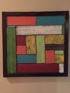 Personalizado pintado plataforma abstracto arte