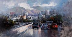 El Ávila y Caracas protagonizan muestra de Armando Villalón