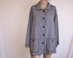 MOSAIC Womens Plus Sz 22W Shirt Top Blouse Plaid Button Front 3/4 Sleeve Pockets #Mosaic #ButtonDownShirt #Casual