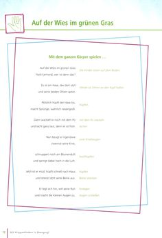Easter Movement Poem # spring - Home Kindergarten Activities, Preschool, Kindergarten Portfolio, Happy Kids, Kids And Parenting, Kids Playing, Cool Kids, Crafts For Kids, Poems