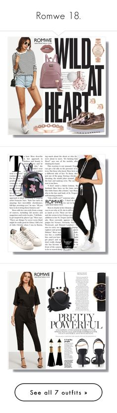 """""""Romwe 18."""" by amra-sarajlic ❤ liked on Polyvore featuring romwe, Michael Kors, Butter London, Abbott Lyon, Nine West, Fallon, CLUSE, Christian Louboutin, Yves Saint Laurent and Lime Crime"""