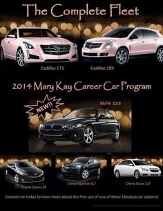 The Mary Kay Career Car Fleet
