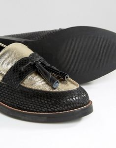 0286957064f MYSTIC Leather Loafers