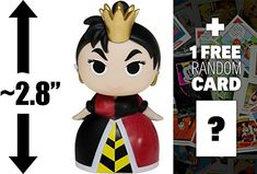 Queen of Hearts: Funko Mystery Minis x Disney Villains Mini Vinyl Figure 1 FREE Classic Disney Trading Card Bundle [UNCOMMON] *** Check this awesome product by going to the link at the image. Disney Villains, Disney Characters, Fictional Characters, Disney Queens, Funko Mystery Minis, Queen Of Hearts, Vinyl Figures, Trading Cards, Disney Decorations