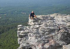 Hanging Rock State Park in North Carolina.