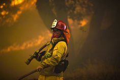 Climate change is accelerating fires that produce dangerous levels of pollution.