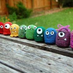 Little monsters crochet