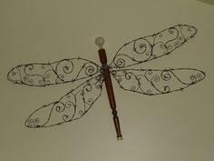 Barbed Wire Wall Butterfly Craft