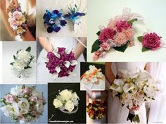 Wedding personal flowers
