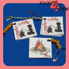 SWAPS4Free: Campfire Safety Booklet Girl Scout SWAPS - Free Printable!