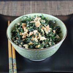 Kale-tofu salad by foodgal