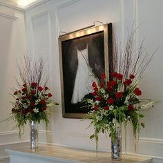 Florals by Flower Bar. #atlantaflorist #atlantawedding flowerbar@gmail.com Flower Bar, Cake Flowers, Atlanta Wedding, Flower Delivery, Florals, Christmas Wreaths, Reception, Holiday Decor, Instagram Posts