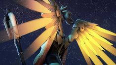 Heals on Heels by Yhrite. Overwatch Mercy.