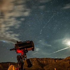 Now this was cool. Hooked up my camera to this Celestron 2800mm telescope and got pictures of stars, the moon and even different galaxies! Was a really neat experience. Just outside of Bryce Canyon.