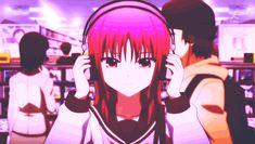 Masami Iwasawa, Angel Beats, anime pink hair