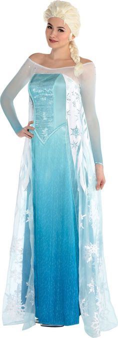 Adult Elsa Costume - Frozen - Party City