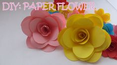Easy to follow step by step instructions on how to create these easy to follow step by step instructions on how to create these beautiful looking rose flower paper flowers designed by german r fernandez pinterest mightylinksfo