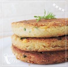Sin Gluten, Veggie Recipes, Healthy Recipes, Vegan Foods, Hamburger, Food And Drink, Veggies, Meals, Cooking