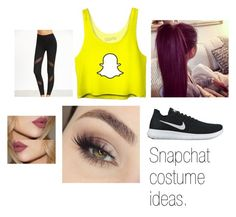 """""""snapchat"""" by chloe-m-b-d on Polyvore featuring NIKE"""